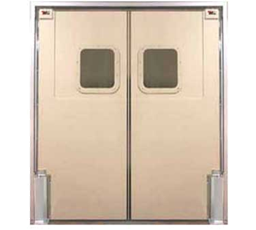 Photo of the Curtron Products SPD-60-DBL-4884 Service-Pro® Series 60 Double Swinging Door