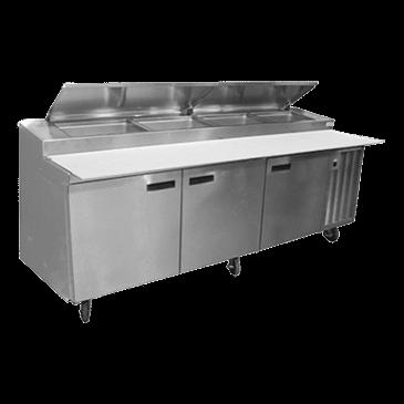 Delfield 18699PTLV LiquiTec®Refrigerated Prep Table