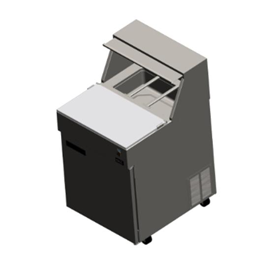 Delfield F18SC27-DCP Liquitec® Refrigerated Counter