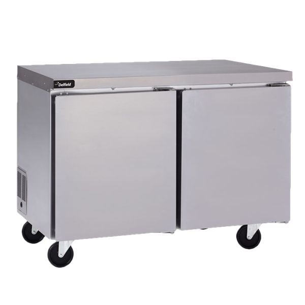 Delfield GUF48P-S Coolscapes™ Undercounter/Worktable Freezer