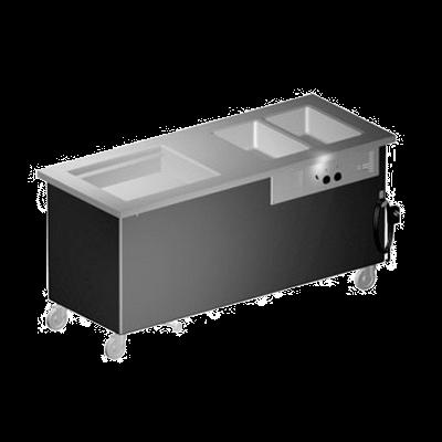 Delfield KH3C-96-NU Shelleyglas® Combination Hot/Cold Serving Counter