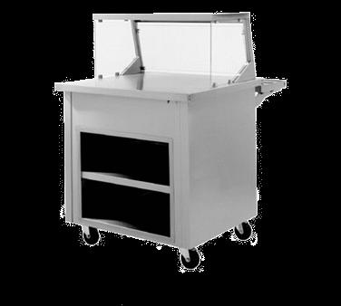 Delfield SC-60-NU Shelleysteel™ Solid Top Serving Counter