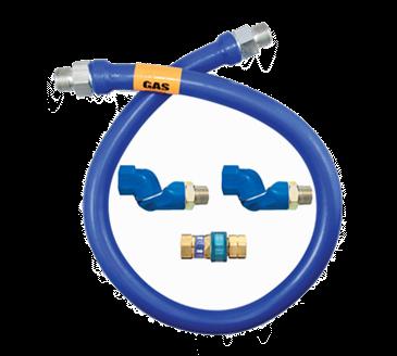 Dormont Manufacturing Manufacturing 16100BPQ2S48BX Dormont Blue Hose™ Moveable Gas Connector Hose