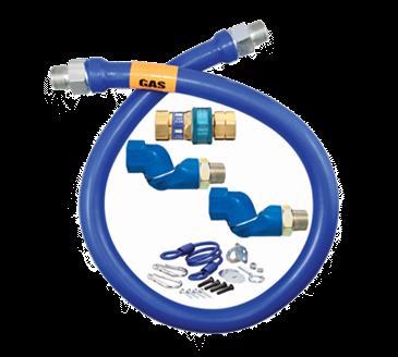 Dormont Manufacturing Manufacturing 16100BPQ2SR48BX Dormont Blue Hose™ Moveable Gas Connector Hose