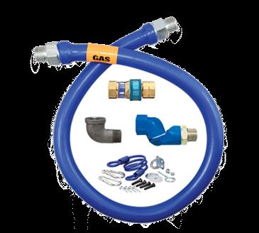 Dormont Manufacturing Manufacturing 16100BPQSR60 Dormont Blue Hose™ Moveable Gas Connector Hose