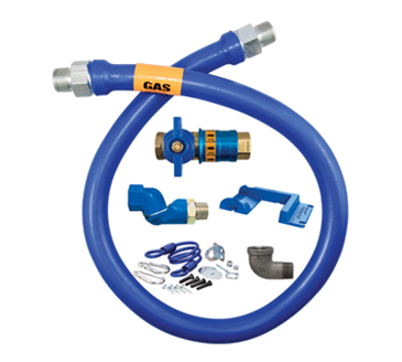 Dormont Manufacturing Manufacturing 16100KITCFS60PS Dormont Blue Hose™ Moveable Gas Connector Kit