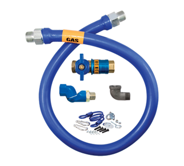 Dormont Manufacturing Manufacturing 16100KITCFS72 Dormont Blue Hose™ Moveable Gas Connector Kit