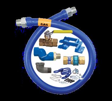 Dormont Manufacturing Manufacturing 16100KITS48PS Dormont Blue Hose™ Moveable Gas Connector Kit