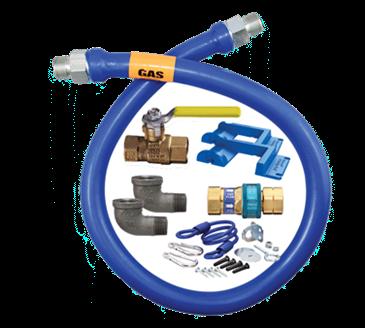 Dormont Manufacturing Manufacturing 16125KIT48PS Dormont Blue Hose™ Moveable Gas Connector Kit