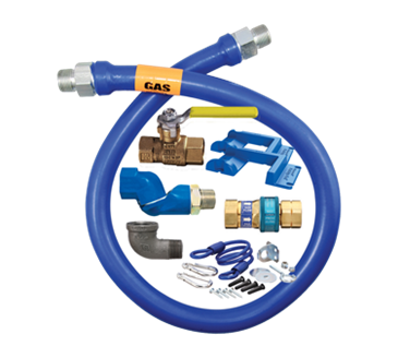 Dormont Manufacturing Manufacturing 16125KITS72PS Dormont Blue Hose™ Moveable Gas Connector Kit