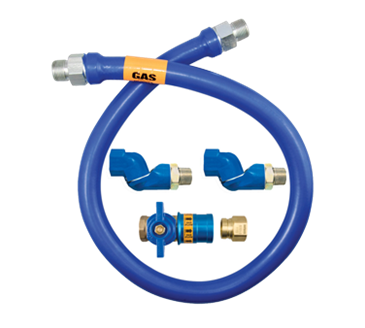 Dormont Manufacturing Manufacturing 1650BPCF2S36 Dormont Blue Hose™ Moveable Gas Connector Hose