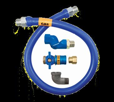 Dormont Manufacturing Manufacturing 1650BPCFS60 Dormont Blue Hose™ Moveable Gas Connector Hose