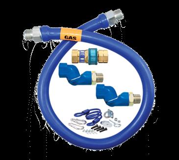 Dormont Manufacturing Manufacturing 1650BPQ2SR48BX Dormont Blue Hose™ Moveable Gas Connector Hose