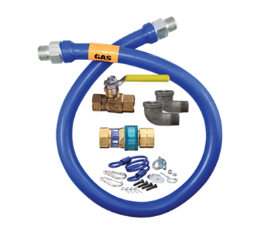 Dormont Manufacturing Manufacturing 1650KIT60 Dormont Blue Hose™ Moveable Gas Connector Kit