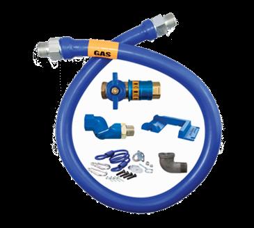 Dormont Manufacturing Manufacturing 1650KITCFS36PS Dormont Blue Hose™ Moveable Gas Connector Kit