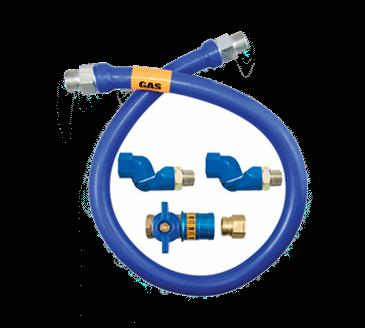 Dormont Manufacturing Manufacturing 1675BPCF2S36 Dormont Blue Hose™ Moveable Gas Connector Hose