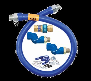 Dormont Manufacturing Manufacturing 1675BPQ2SR48 Dormont Blue Hose™ Moveable Gas Connector Hose
