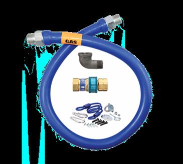 Dormont Manufacturing Manufacturing 1675BPQR48BX Dormont Blue Hose™ Moveable Gas Connector