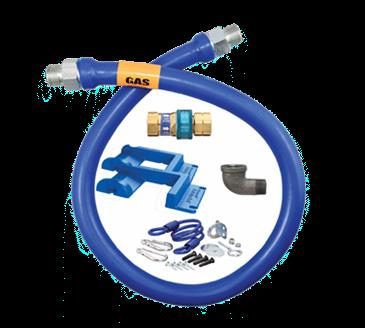 Dormont Manufacturing Manufacturing 1675BPQR48PS Dormont Blue Hose™ Moveable Gas Connector