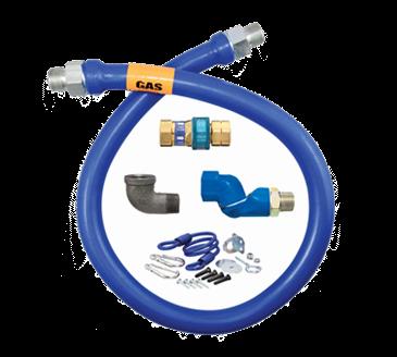 Dormont Manufacturing Manufacturing 1675BPQSR48BX Dormont Blue Hose™ Moveable Gas Connector Hose