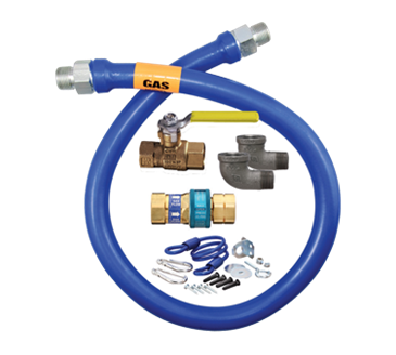 Dormont Manufacturing Manufacturing 1675KIT72 Dormont Blue Hose™ Moveable Gas Connector Kit