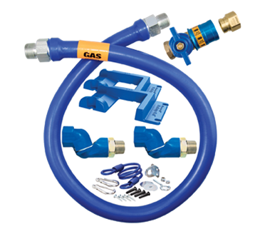 Dormont Manufacturing Manufacturing 1675KITCF2S72PS Dormont Blue Hose™ Moveable Gas Connector Kit