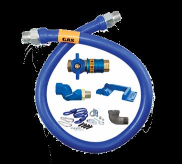 Dormont Manufacturing Manufacturing 1675KITCFS60PS Dormont Blue Hose™ Moveable Gas Connector Kit
