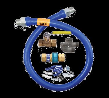 Dormont Manufacturing 1650KIT60 Dormont Blue Hose™ Moveable Gas Connector Kit