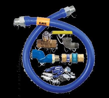 Dormont Manufacturing 1650KITS72 Dormont Blue Hose™ Moveable Gas Connector Kit