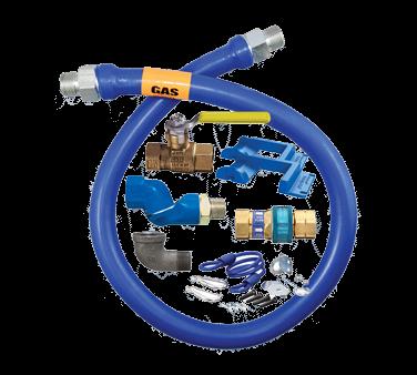Dormont Manufacturing 1675KITS36PS Dormont Blue Hose™ Moveable Gas Connector Kit