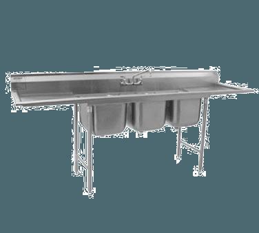 Eagle Group 314-16-3-18R-X 314 Series Sink
