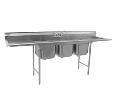 Eagle Group 314-18-3-24-X 314 Series Sink