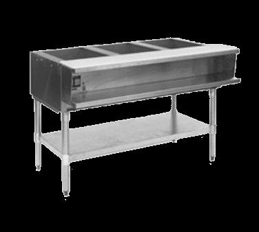 Eagle Group AWT3-NG-2X Water Bath Hot Food Table