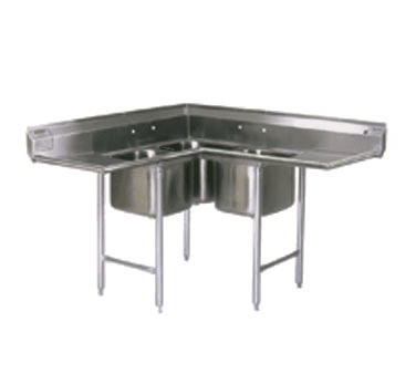 Eagle Group C314-16-3-18 Corner Sink