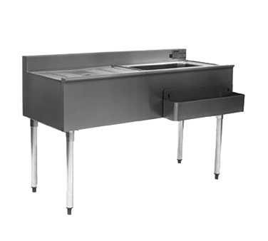 Eagle Group CWS4-18L 1800 Series Underbar Cocktail Workstation