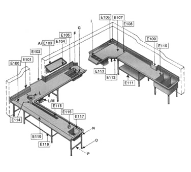 Eagle Group E113 Brackets for booster heater