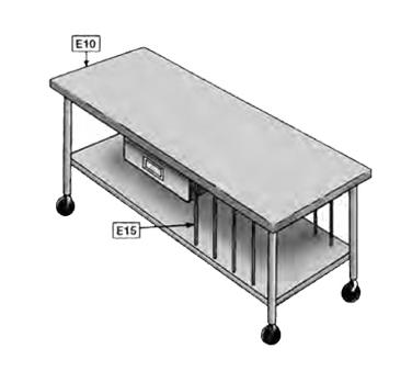 Eagle Group E15 Vertical tray dividers