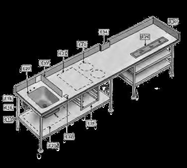 Eagle Group E18.2 Pedestal duplex receptacle