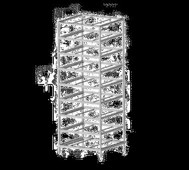 Eagle Group FCR-10-9A Panco Can Rack