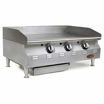 Eagle Group Group CLAGGDTS-48-NG RedHots® Chef's Line® Griddle