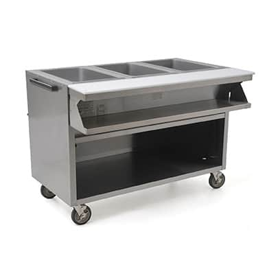 Eagle Group Group SPHT3OB-240-3 Spec-Master® Sealed Well Hot Food Table
