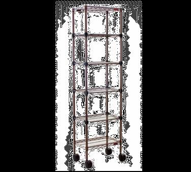 Eagle Group MC1436-74-6BL Aisle Merchandising Cart