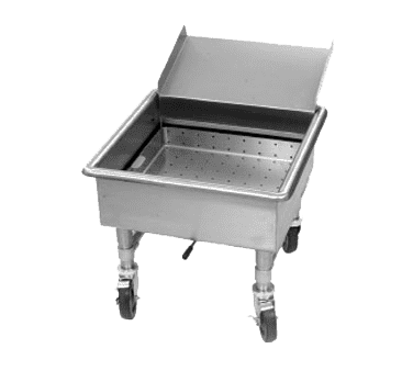 Eagle Group Eagle MSS2020SC Soak Sink with Silver Chute