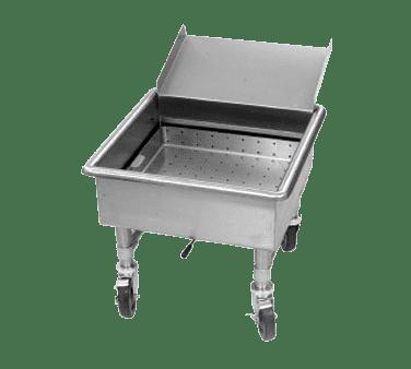 Eagle Group Eagle MSS2424SC-X Mobile Soak Sink