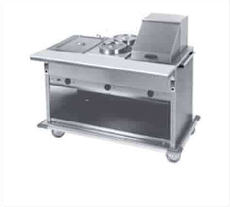 Eagle Group PHT6CB-240-3 Spec-Master Portable Hot Food Table