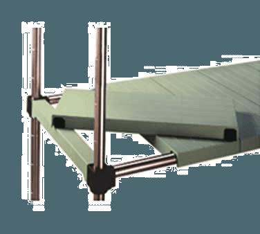 Eagle Group S2348PZM-M LIFESTOR Polymer Shelf
