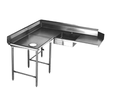 Eagle Group SDTCL-72-16/4 Soiled Dishtable