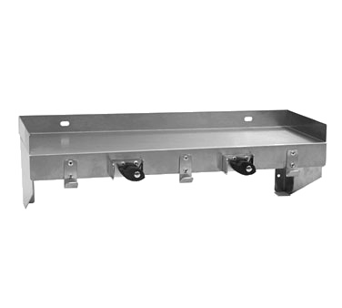 Eagle Group US0824-16/3 Utility Shelf with Mop Hanger