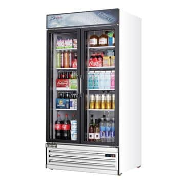 Everest Refrigeration Refrigeration EMSGR33 Reach-In Glass Door Merchandiser Refrigerator