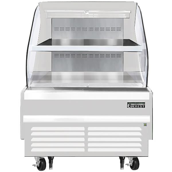 Everest Refrigeration EOMH-36-W-35-T 37.25'' Air Curtain Open Display Merchandiser with